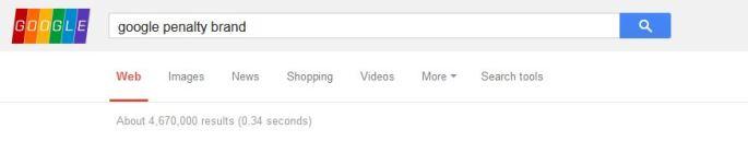 google brand penalty