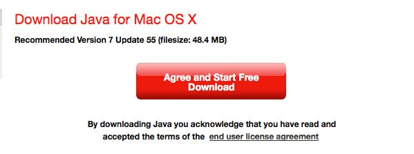 java 7 agree to download