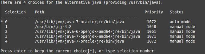 Java 7 configured baby