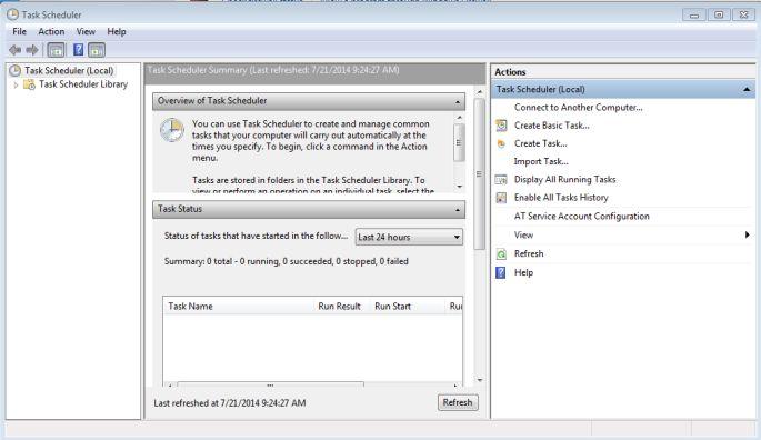 windows task scheduler 2