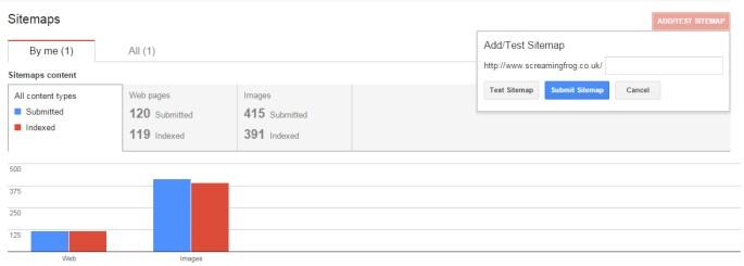 Submit XML Sitemap Google