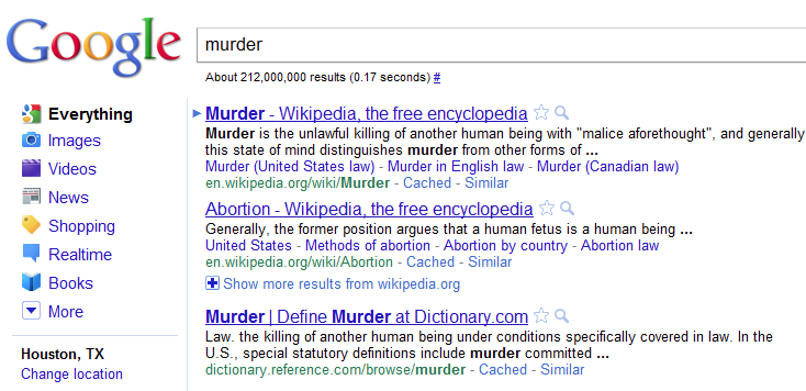 murder abortion