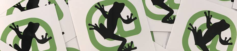 screaming frog stickers giveaway