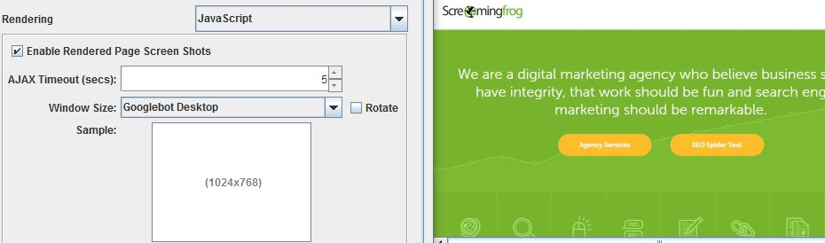 Screaming Frog SEO Spider 7.0