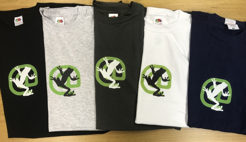 Screaming Frog T-shirts again