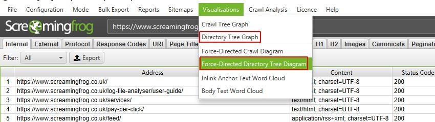 directory tree visualisations