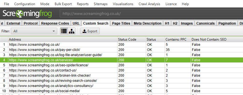 Custom Search Improvements