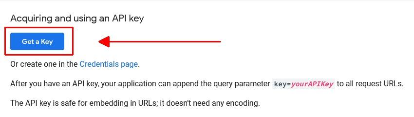 PSI API Key
