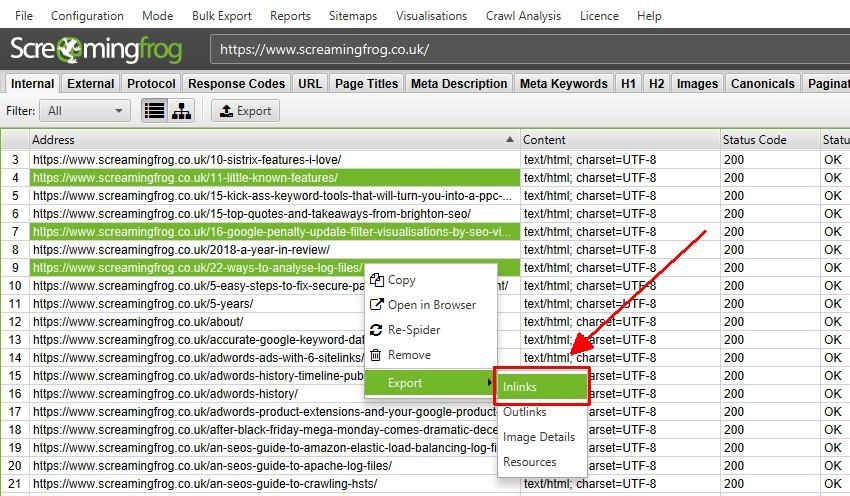Multi Select Bulk Export Data