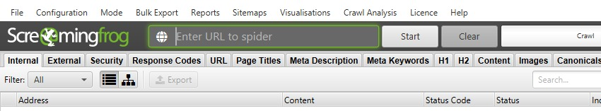 New URL Box